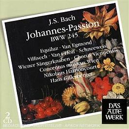 La passion selon Saint-Jean bwv245, CD