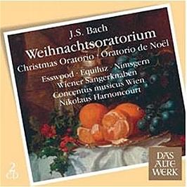 Bach : oratorios de noel, CD
