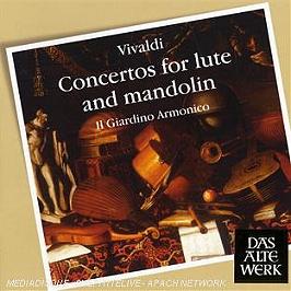 Concertos pour luth et mandoline, CD