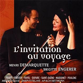 L'Invitation Au Voyage, CD