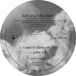 I used to - Dixon rework Pulse v.1, Vinyle 45T Maxi
