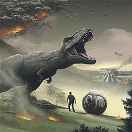Jurassic world fallen kingdom, Double vinyle