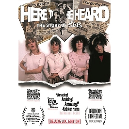 Here to be heard - The story of the Slits, Dvd Musical