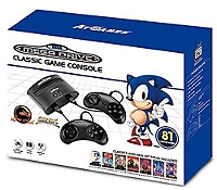 Sega Megadrive classic console (filaire)