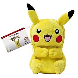 Sac peluche Pikachu (3DS)