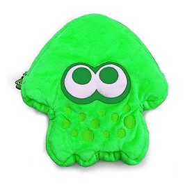 Sacoche peluche Splatoon 2 (verte) (SWITCH)