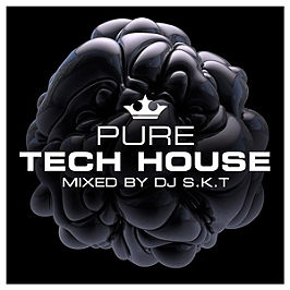 Pure tech house mixed by D S.K.T, CD + Box