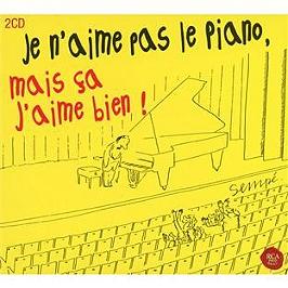 Je n'aime pas le piano, mais ça j'aime bien, CD Digipack