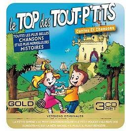 Top des tout p'tits contes et chansons, CD + Box