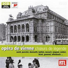 Choeurs de légende, CD