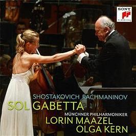Shostakovich : cello concerto no. 1, Rachmaninov : sonata for cello and piano op. 1, CD
