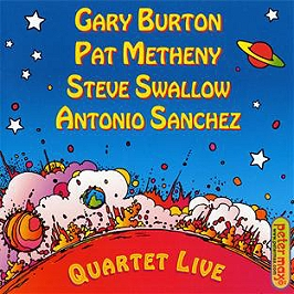 Quartet live!, CD