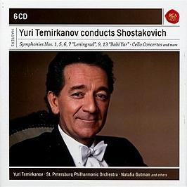Yuri Temirkanov conducts Shostakovich, CD + Box