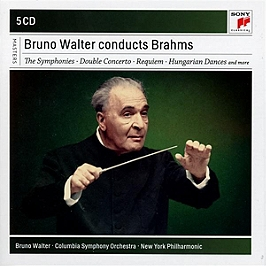 Bruno Walter conducts Brahms, CD + Box