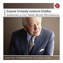 Eugene Ormandy conducts Sibelius, CD + Box