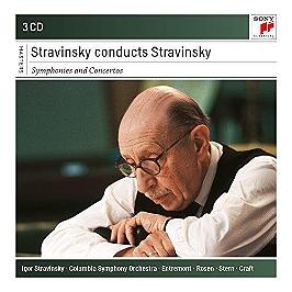 Stravinsky conducts Stravinsky, CD + Box