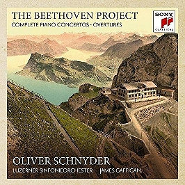 The Beethoven project - The 5 piano concertos & 4 overtures, CD + Box