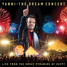 The dream concert: live from the great pyramids of Egypt, CD AUDIO + DVD (package DVD)