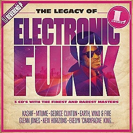 The legacy of electronic funk, CD Digipack