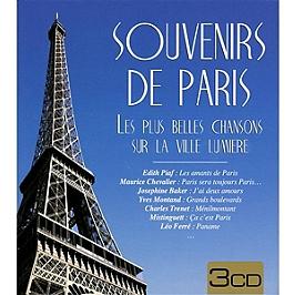 Souvenirs de Paris, CD + Box