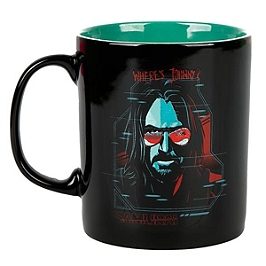 Mug cyberpunk 2077 digital ghost