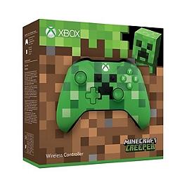 Manette sans fil pour Xbox One - édition limitée Minecraft creeper (XBOXONE)