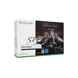 Pack console Xbox One S (500Go) et l'ombre de la guerre (XBOXONE)