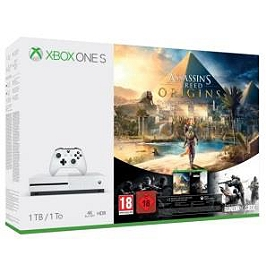 Xbox One S (1 To) + AC: Origins + Rainbow Six: Siege (XBOXONE)