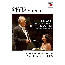 Liszt: piano concerto no. 2 in a-major, s. 125 & Beethoven: piano concerto no. 1, Dvd Musical