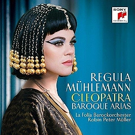 Cleopatra, baroque arias, CD