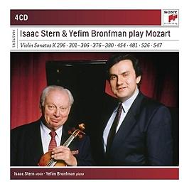 Isaac Stern and Yefim Bronfman play Mozart violin sonatas, CD + Box
