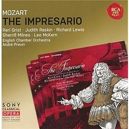 The impresario, k486, CD