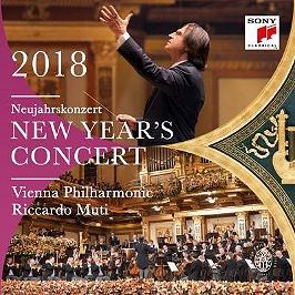 New year's concert 2018 / Neujahrskonzert 2018 / Concert du nouvel an 2018, Dvd Musical