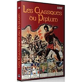 Coffret les classiques du péplum 5 films, Dvd