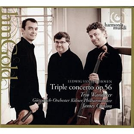 Triple concerto op.56, CD Digipack