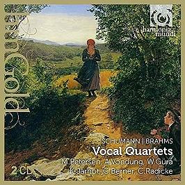 Quatuors vocaux, CD