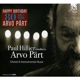 Paul Hillier conducts Arvo Part, CD + Box