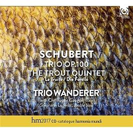 Trio op.100 - La truite, CD