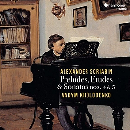 Preludes, études & sonates nos 4 & 5, CD Digipack