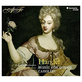 Music for the queen Caroline, CD