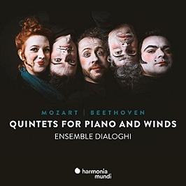 Quintets for piano and winds, CD