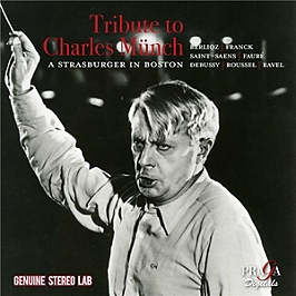 Hommage a Charles Munch, CD