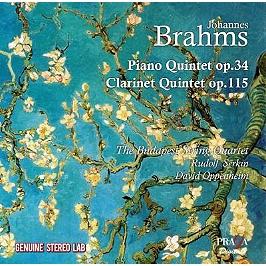 Quintettes avec piano op.34 & avec clarinette op.115, CD