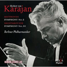 Symphonie n°5, symphonie n°10, CD