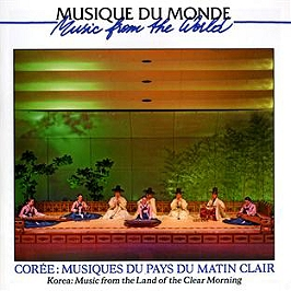 Corée: musiques du pays du matin clair, CD