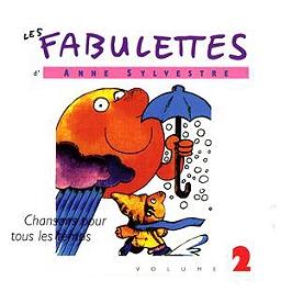 Les fabulettes d'Anne Sylvestre /vol.2 : chansons pour tous les temps, CD Digipack