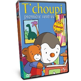 T'choupi : première rentrée, Dvd