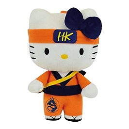 Peluche Hello Kitty samourai (25cm)