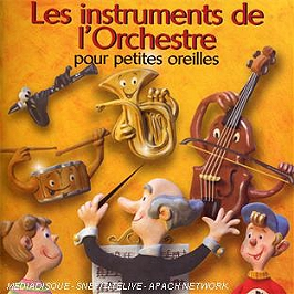Instruments de l'orchestre pour petites oreilles, CD