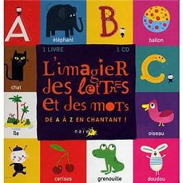 L'imagier des lettres et des mots, CD + Livre